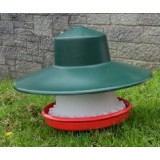 Plastic Feeder with rain cover 12kg