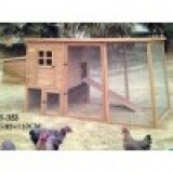 6ft x 4ft Chicken house and run