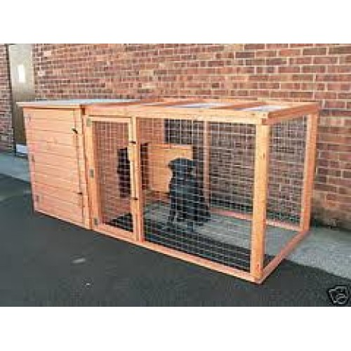 Chicken duck dog house and run for Dog house and run