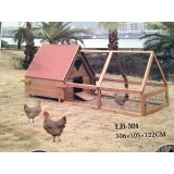 10ft Apex Chicken house and run