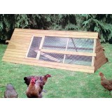 8ft Apex Chicken house and run