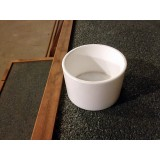 3'' White plastic bowl