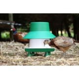 Plastic Feeder with legs and rain cover